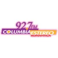 Logo of radio station Radio Columbia Estereo 92.7 FM
