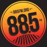 Logo of radio station KCSN 88.5 FM Radio