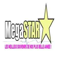Logo of radio station MEGASTAR
