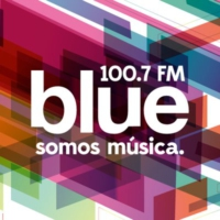 Logo of radio station Blue FM 100.7 fm