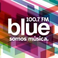 Logo de la radio Blue FM 100.7 fm