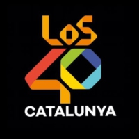Logo of radio station LOS40 - Catalunya