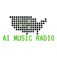 Logo of radio station AI Music Radio - Artificial Intelligence Songs and Talks