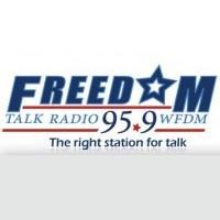 Logo of radio station Freedom 95.9 fm