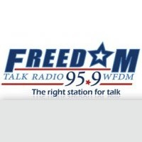 Logo of radio station Freedom 95.9 fm