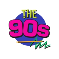 Logo of radio station The 90s iHeartRadio