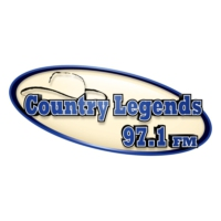 Logo of radio station KTHT Country Legends 97.1