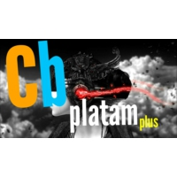 Logo of radio station CB Platam plus