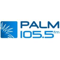 Logo of radio station Palm 105.5