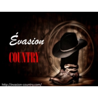 Logo de la radio Evasion Country