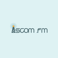 Logo of radio station ISCOM FM