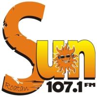 Logo of radio station SUN 107.1 FM