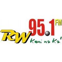 Logo of radio station RW 95.1 FM