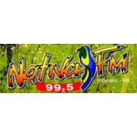 Logo of radio station Rádio Nativa FM