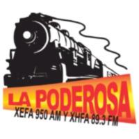 Logo of radio station XHFA La Poderosa 89.3 FM