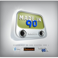 Logo of radio station Made in 90