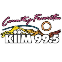 Logo of radio station KIIM 99.5