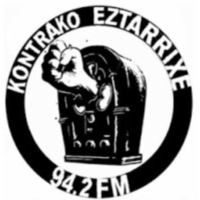 Logo of radio station Kontrako Eztarrixe