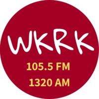 Logo de la radio WKRK 105.5 FM 1320 AM