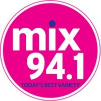 Logo of radio station CKEC-FM Mix 94.1
