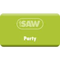 Logo of radio station radio SAW - Party