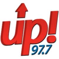 Logo of radio station UP 97.7