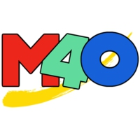 Logo of radio station M40