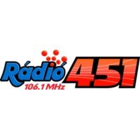 Logo de la radio Rádió 451