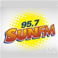 Logo of radio station 95.7 Sun FM