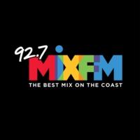 Logo of radio station 92.7 Mix FM