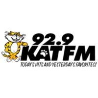 Logo of radio station 92.9 KAT FM