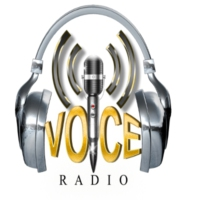 Logo of radio station KBCN The Voice