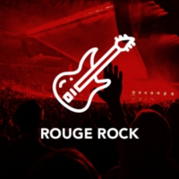 Logo of radio station Rouge Rock