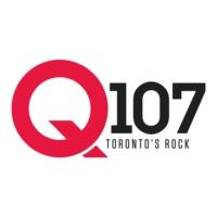 Logo of radio station CILQ-FM Q107 Toronto