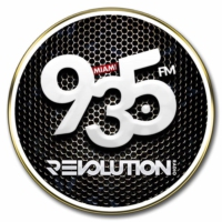 Logo de la radio WZFL Revolution 93.5