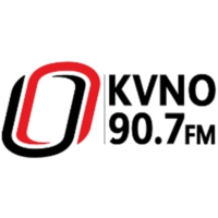 Logo of radio station KVNO Classical 90.7 FM