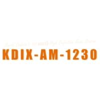 Logo de la radio KDIX AM 1230