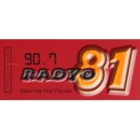 Logo of radio station 90.7 Radyo 81