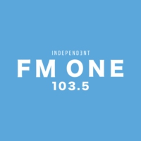 Logo of radio station FM ONE 103.5