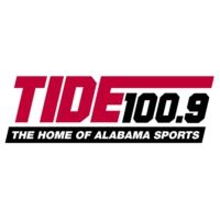 Logo of radio station WTUG-FM Tide 100.9