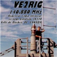 Logo of radio station VE2RIG 146.880