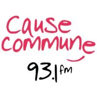 Logo of radio station Cause Commune 93.1 FM