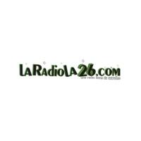 Logo of radio station La radiola26