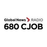 Logo of radio station CJOB-AM 680