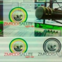 Logo of radio station ZIMROCK SALUTE RADIO ONE