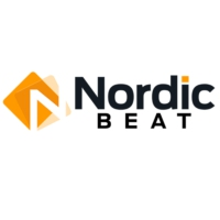 Logo of radio station Nordic Beat Radio