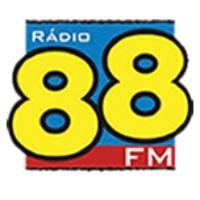 Logo of radio station Rádio 88 88.3 FM
