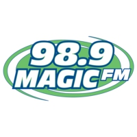 Logo de la radio KIBT 98.9 Magic FM