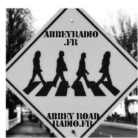 Logo of radio station 7AC-AbbeyRoadRadio
