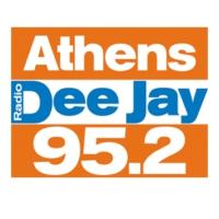 Logo of radio station 95.2 Athens DeeJay